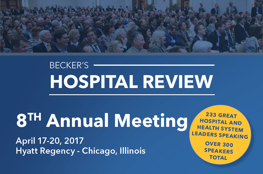 Beckers Hospital Review - 8th Annual Meeting